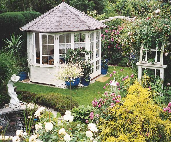 gartenhaus glas elegance ein gartenhaus von riwo. Black Bedroom Furniture Sets. Home Design Ideas