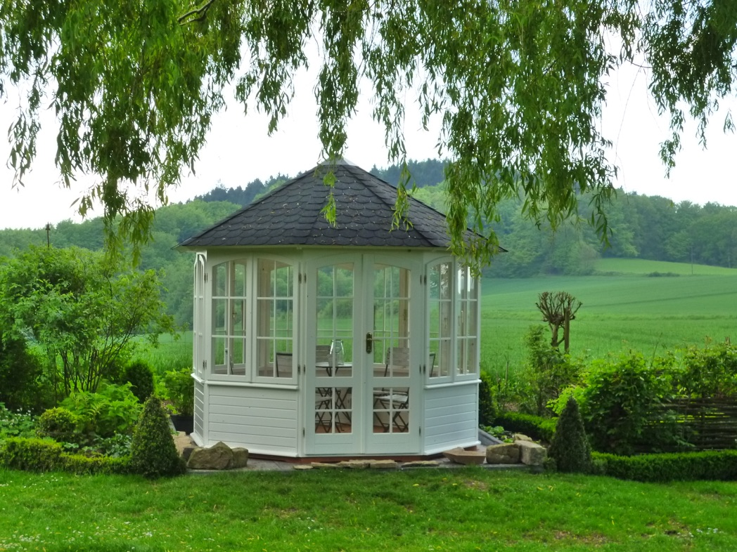 garten pavillon teehaus. Black Bedroom Furniture Sets. Home Design Ideas
