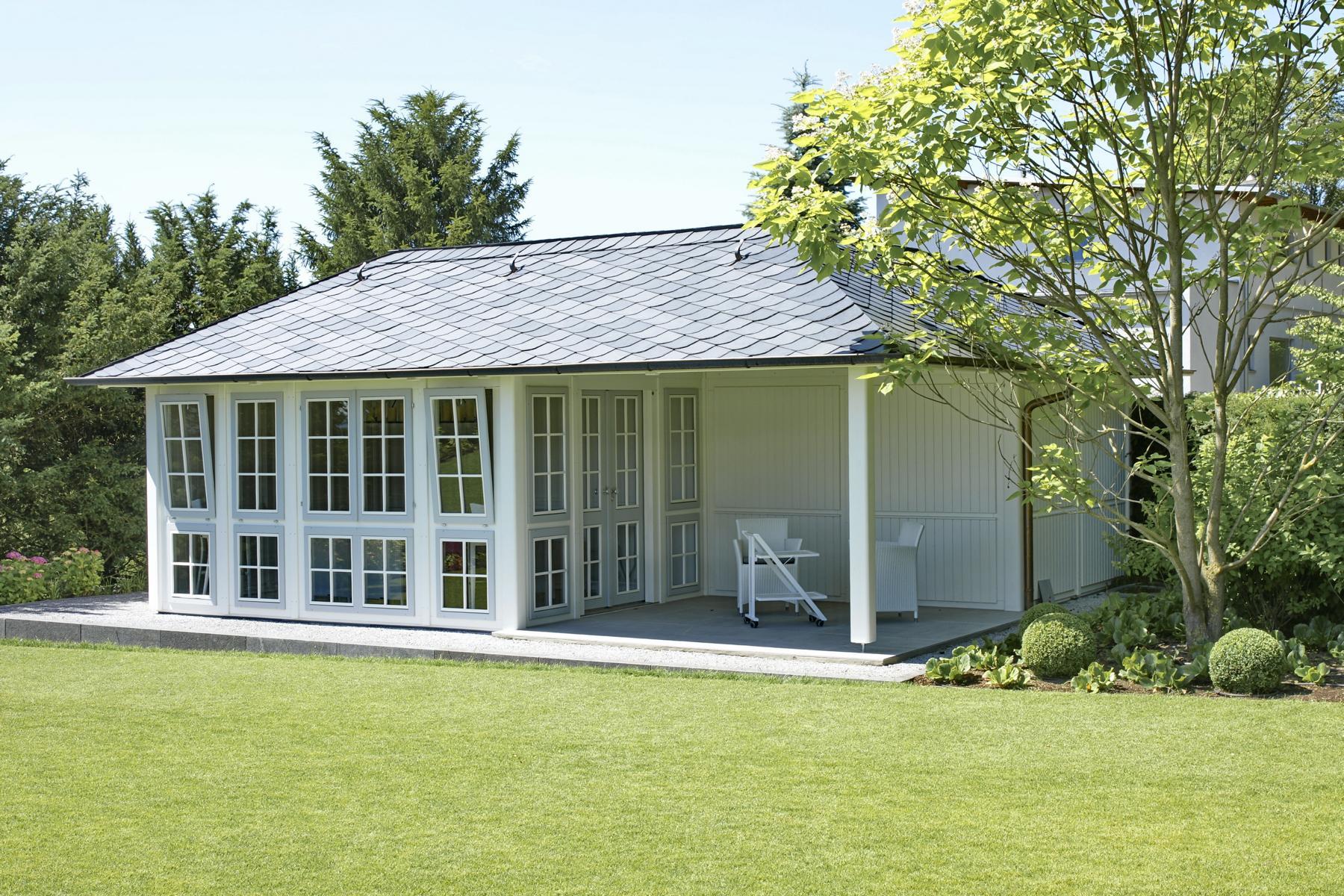 hochwertige gartenpavillons von riwo gartenlaube hochwertig. Black Bedroom Furniture Sets. Home Design Ideas