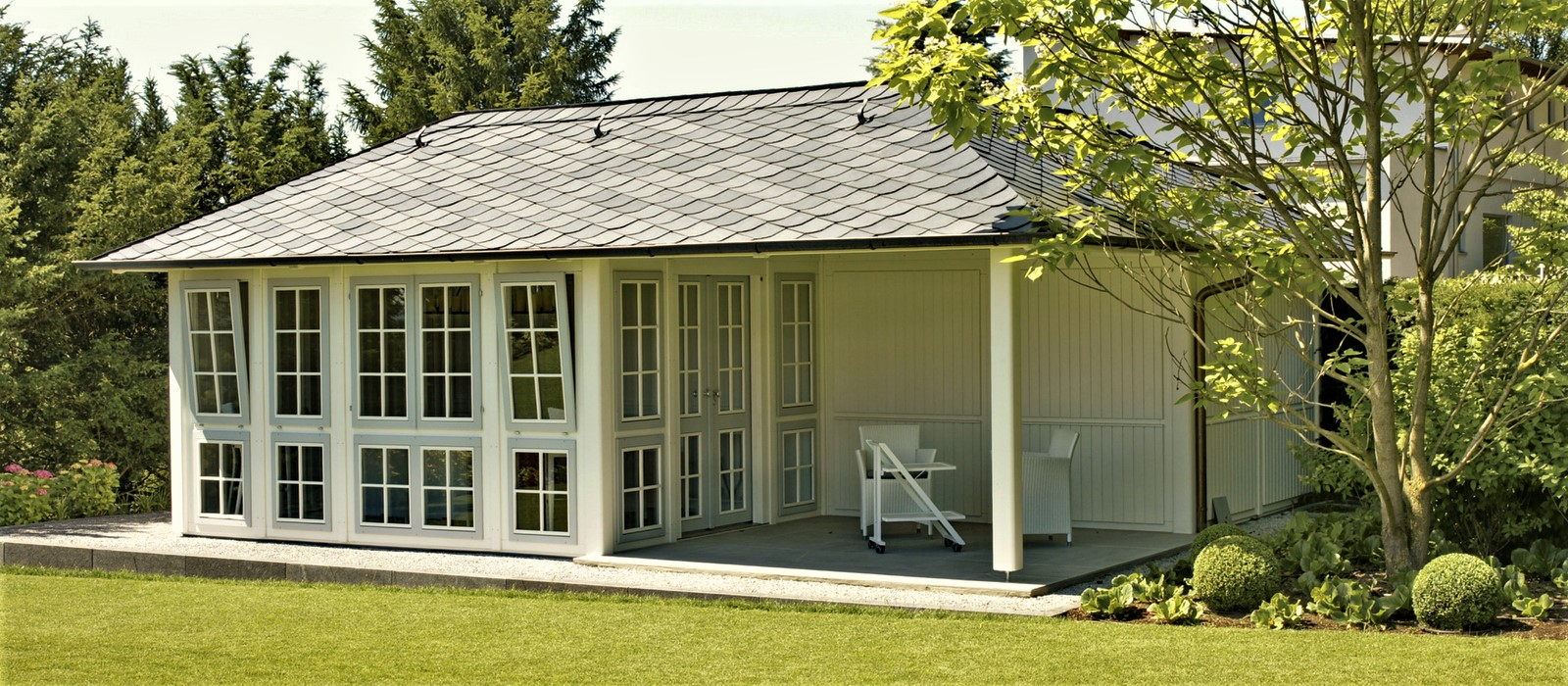 Hochwertige Gartenhauser Aus Holz Gartenpavillons Von Riwo
