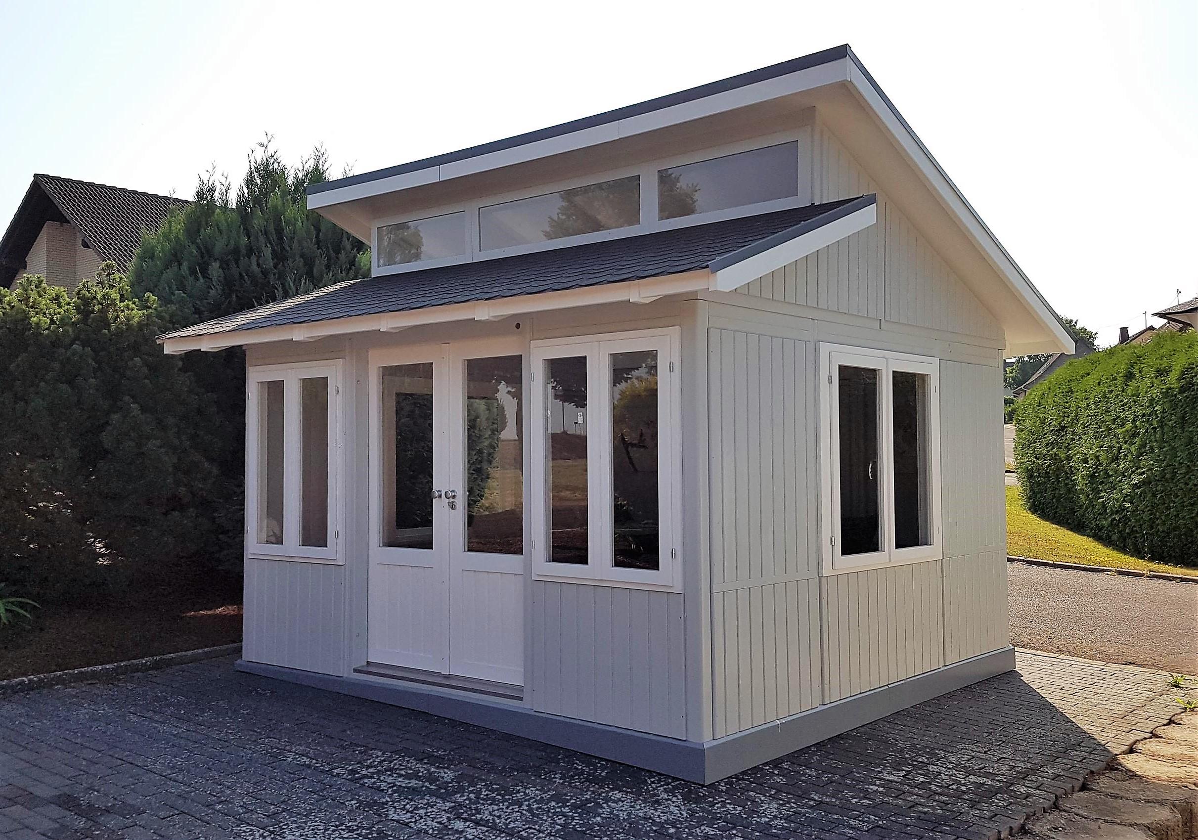 g nstiges gartenhaus kaufen romantica von riwo restposten. Black Bedroom Furniture Sets. Home Design Ideas