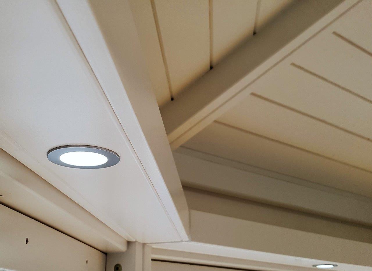 Gartenhaus Beleuchtung | Linea Gartenhaus Mit Beleuchtung Riwo Gartenpavillons